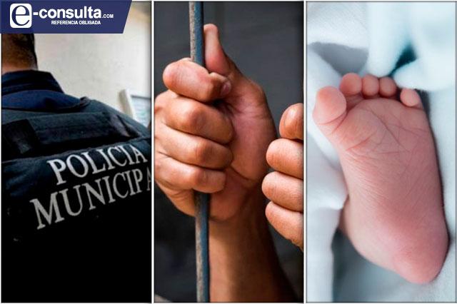 Un bebé muerto y tres detenidos en Atlixco deja el fin de semana