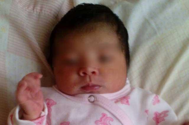 Dos delincuentes se robaron a una niña de 20 días de nacida