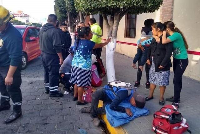 Muere bebé en accidente sobre Reforma Norte en Tehuacán