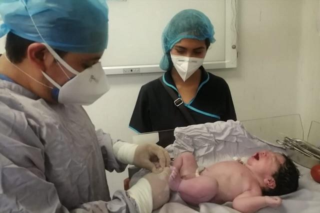 Nace la primera bebé poblana del 2021 en Tehuacán
