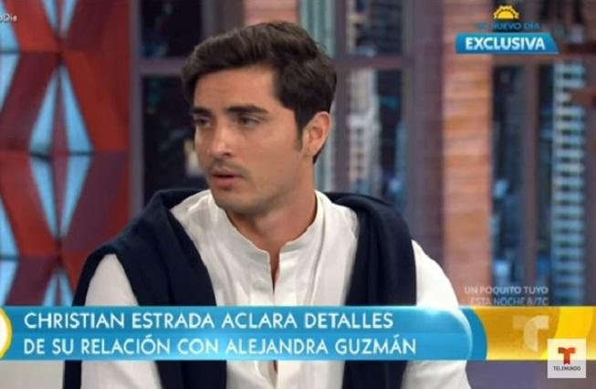 Frida Sofía sí estuvo embarazada, confirma su exnovio en tv