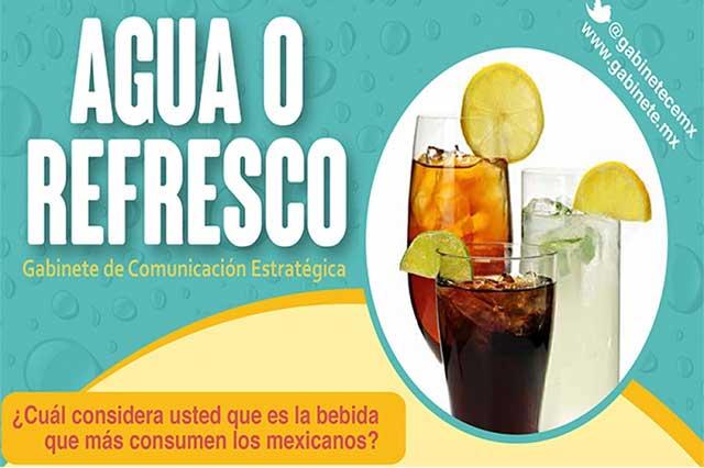 El refresco es la bebida que más se consume en México: encuesta