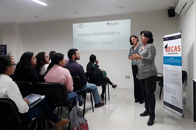 Beca del Concytep para tesis y titulación de 110 estudiantes