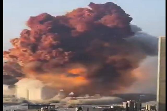 Así quedó Beirut tras explosión