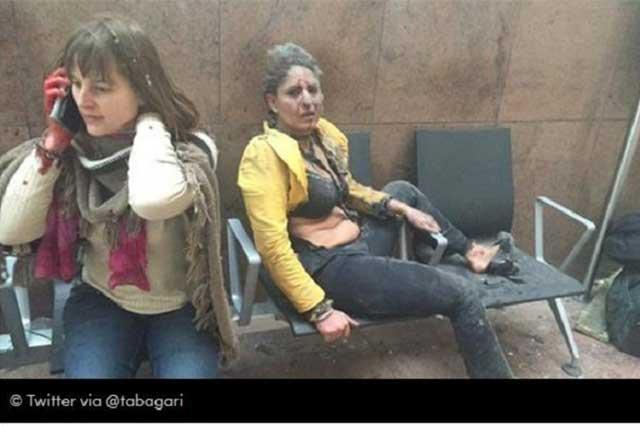 Sufre Bélgica dos atentados terroristas que dejan 34 muertos