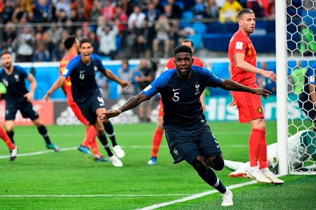 Francia doblega a Bélgica 1-0 y va a la final del mundial de Rusia 2018