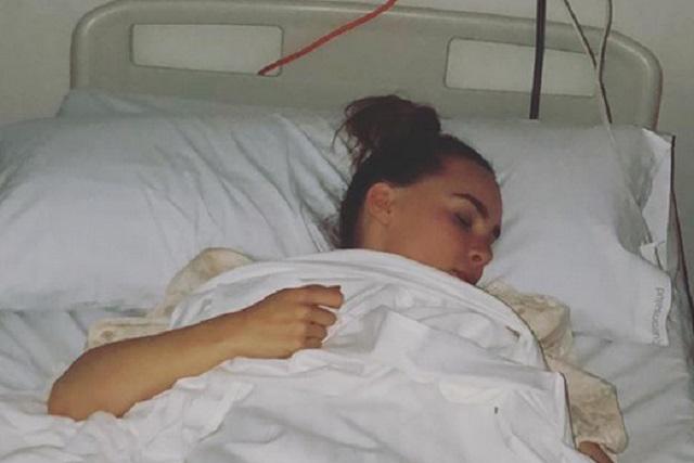 Belinda es hospitalizada y ella explica los problemas que enfrenta