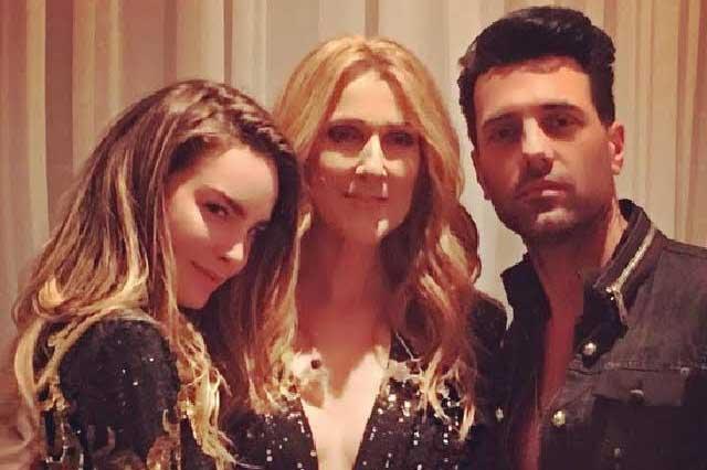 Criss Angel presume su amor por Belinda ahora junto a Celine Dion