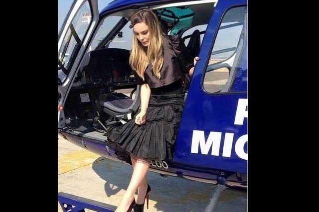 Sancionan a elemento involucrado en traslado de Belinda en helicóptero