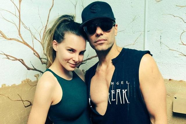 Aseguran que Criss Angel le fue infiel a Belinda con modelo argentina