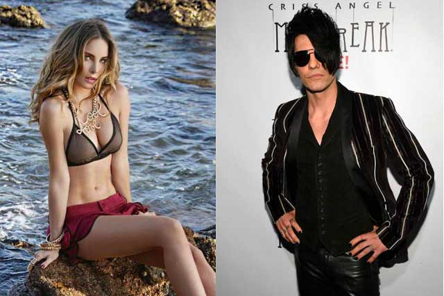 Criss Angel publica video junto a Belinda tras confirmarse su ruptura