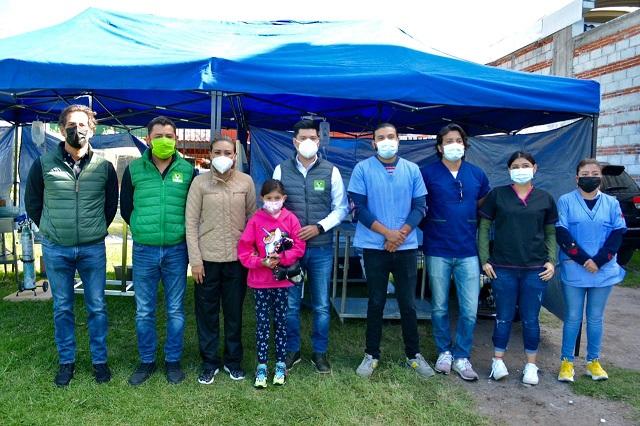 Arranca Partido Verde jornadas de esterilización en San Pedro Cholula