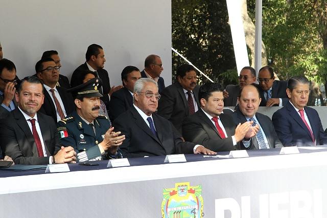 Gobernador encabeza ceremonia por aniversario del natalicio de Juárez