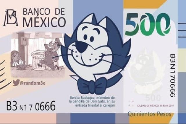 Mexicanos quieren ver a este Benito en los billetes de 500