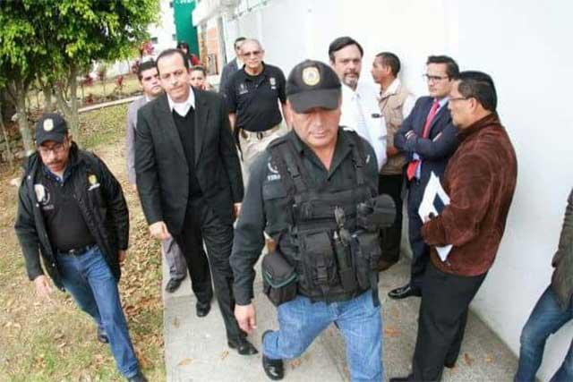Detienen a Bermúdez Zurita en Pacho Viejo por enriquecimiento ilícito