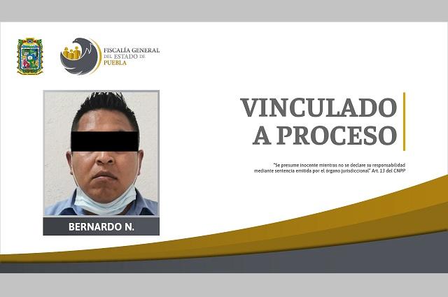 Padrastro acusado de violación a prisión preventiva en Puebla