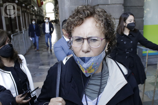 Faltó a Barbosa voluntad política con Claudia Rivera: Bertha Luján
