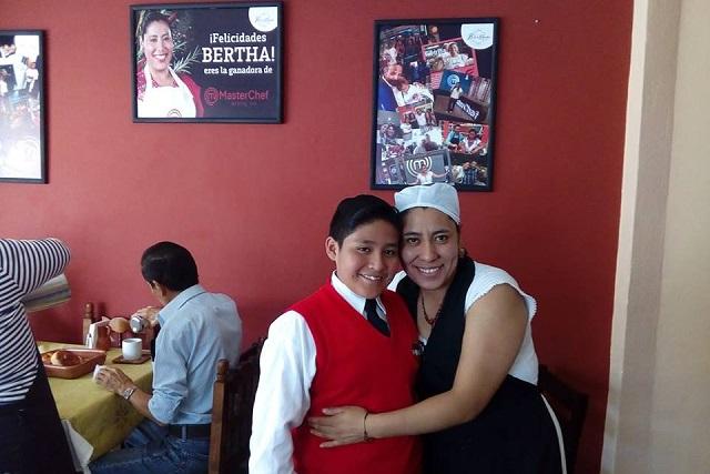 El Don de Bertha: ganadora de MasterChef 2016 abre restaurante en Puebla