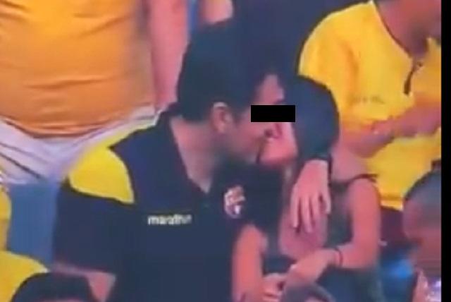 Video viral: ¿Chico besó a su amante y la kiss cam lo atrapó?