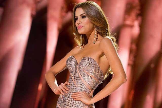 Gianluca Vacchi besa en la boca a ex miss Colombia Ariadna Gutiérrez