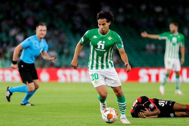 Lainez vuelve y Betis empata ante Leverkusen en Europa League