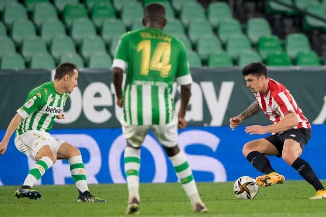 Andrés Guardado y Real Betis fueron eliminados en Copa del Rey