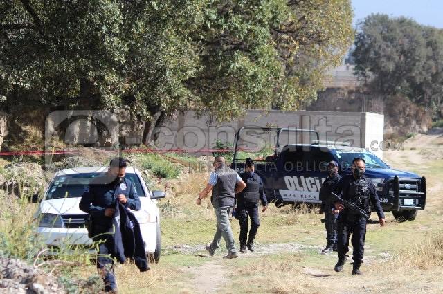 Ejecutan a dos con el tiro de  gracia en San José Chiapa