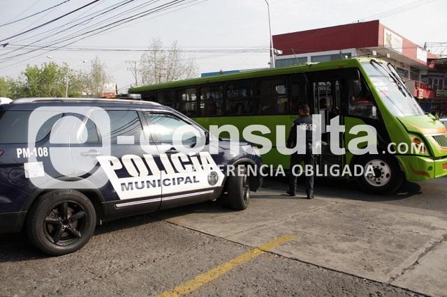 Con violencia asaltan un Ruta 30 en la colonia La Paz