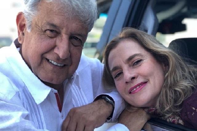 Beatriz Gutiérrez logró convencer a AMLO de tener seguridad