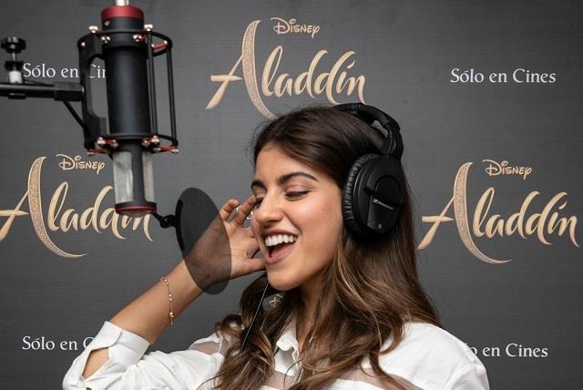 Protagonista de Disney BIA interpreta Callar de Aladdín