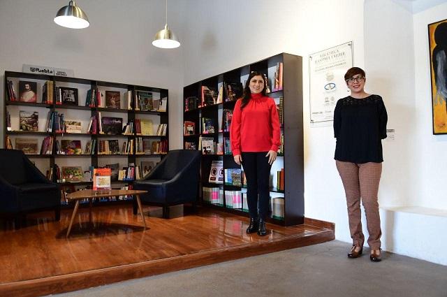 Inaugura gobierno capitalino biblioteca Jean Paul L'Allier