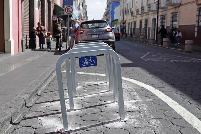 Serán 6 las bici estaciones para el centro de Puebla