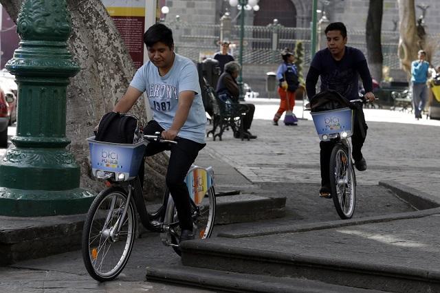 Analizan revocar contrato a Cycloshare en Puebla capital