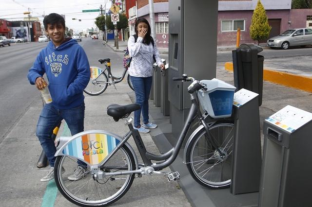 Cycloshare modula tarifas pero sigue debiendo estaciones en Puebla