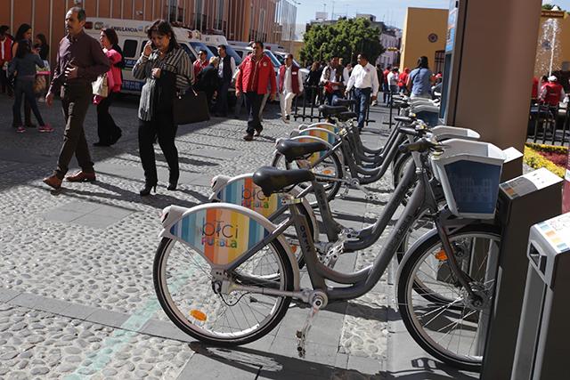 Justifican en ayuntamiento poblano retrasos de la empresa CycloShare