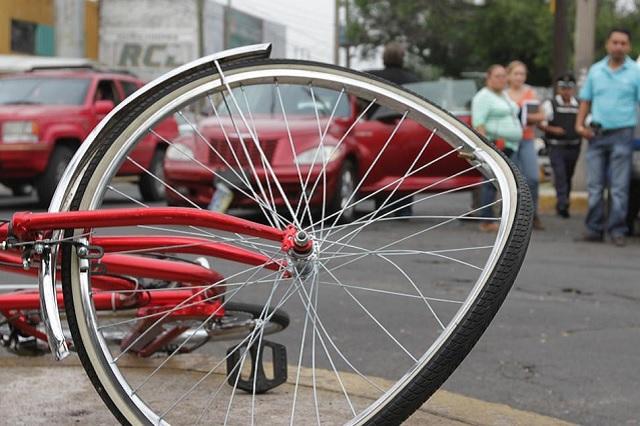 Dan seguro a familia de ciclista atropellado en San Pedro Cholula