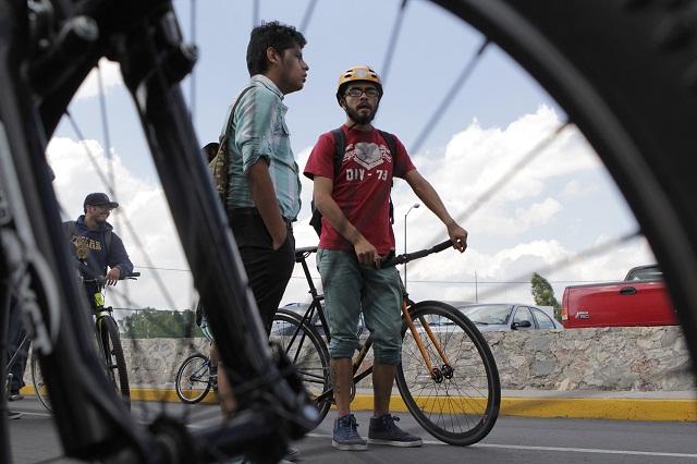 Piden a gobiernos compromiso para impulsar transporte en bicicleta