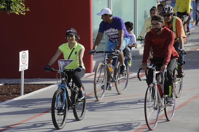 Apuestan negocios de Puebla por impulsar uso de la bicicleta