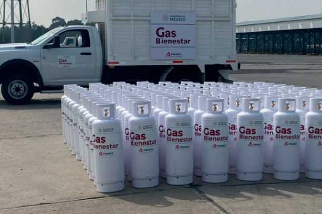 Venderá Gas Bienestar a $400 y $600 cilindros de 20 y 30 kilos
