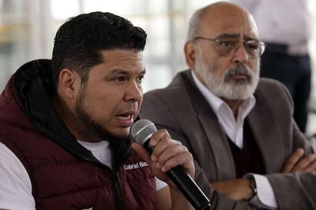 Denuncia Morena campaña negra contra sus candidatos,  en Atlixco