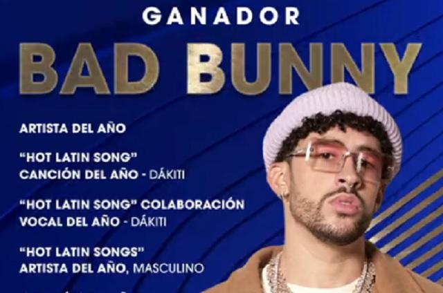 Ellos son los ganadores de los Billboard Latin Music Awards 2021