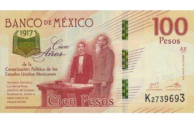 ¿Sabes cómo reconocer un billete falso de 100 pesos conmemorativo?
