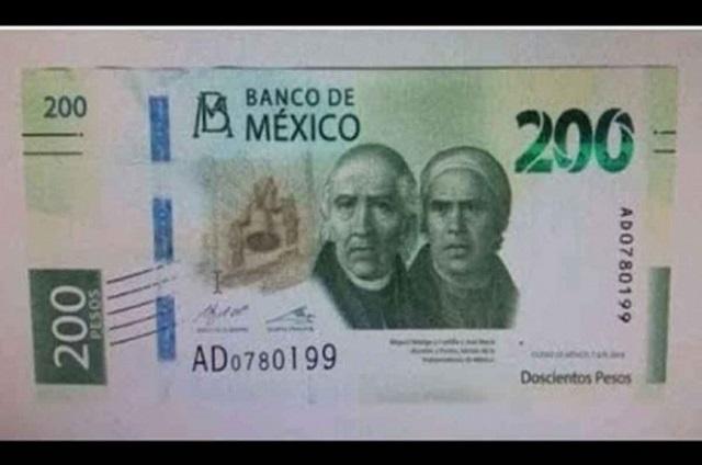 Este es el nuevo billete de 200 pesos que llega en septiembre