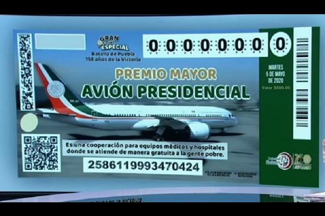 Reportan venta de boletos de la rifa del avión en la CDMX