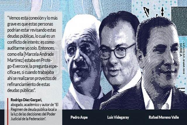Moreirazo en Puebla: pupilos  de Aspe maquillaron la deuda