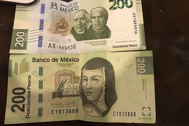 Hasta en 2 mil pesos venden billetes de 200 con imagen de Sor Juana