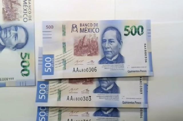 Proponen desaparecer billetes de 500 y 1000 para combatir lavado de dinero