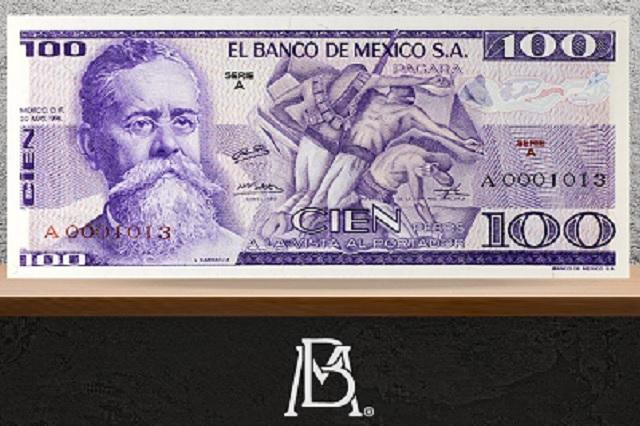 Billetes de Venustiano Carranza valen una fortuna en internet