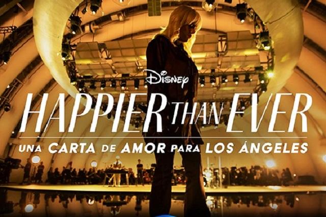 Billie Eilish lleva a Disney+ con Happier than ever