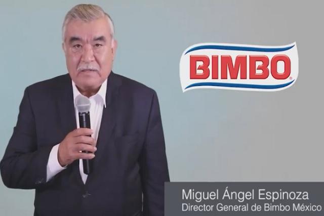 Tras el escándalo, director general de Bimbo lanza mensaje